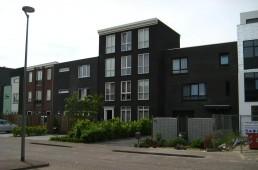 exterieur Amsterdams grachtenpand Almere