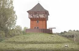 impressie Mottekasteel Prehistorisch Dorp