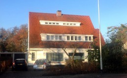 exterieur Totaalrenovatie woonhuis